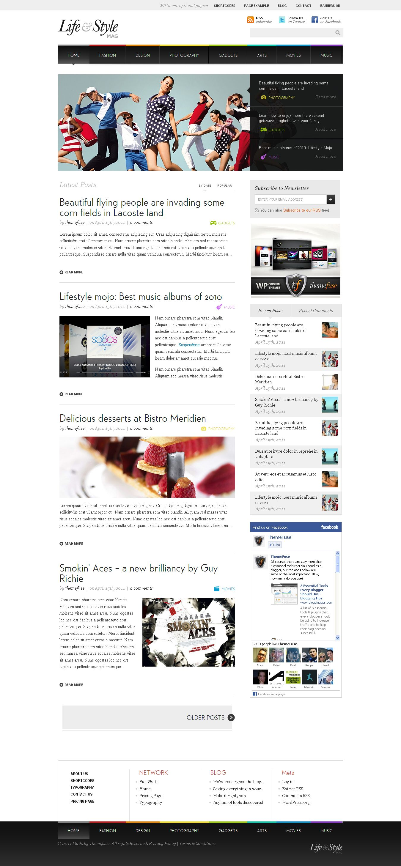 Magazine Type Seo Ready Blogger Template – Bloggy Business