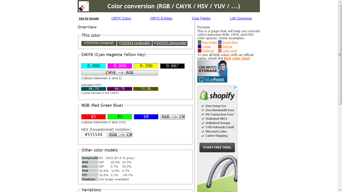 Free Online Tools To Convert Rgb To Cmyk Webriti