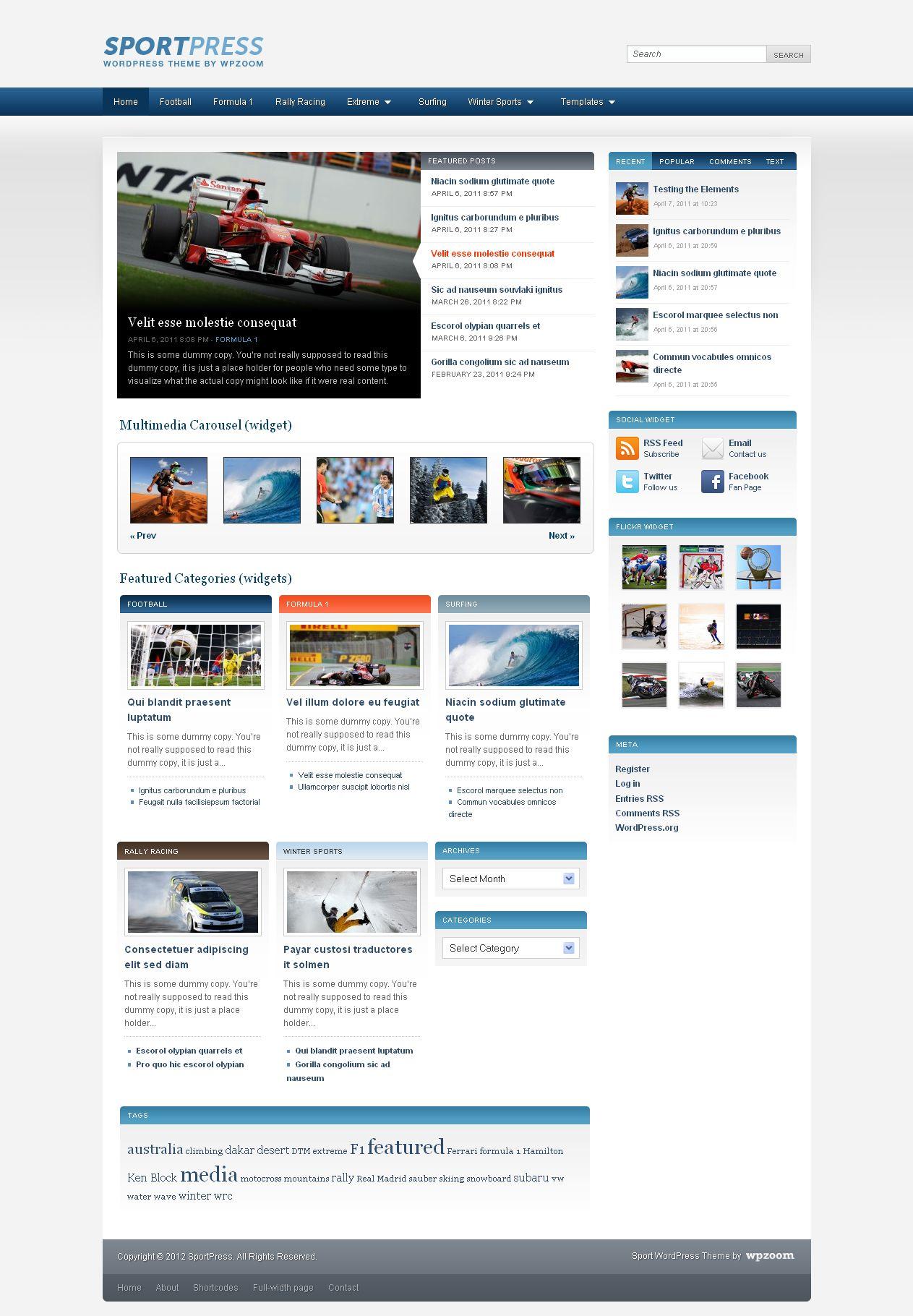 das Bild Premium Magazin Website Australien