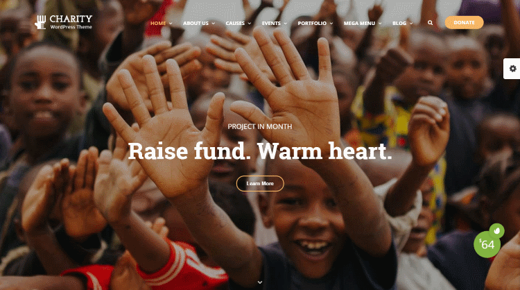 Charity WordPress Theme by Thimpress