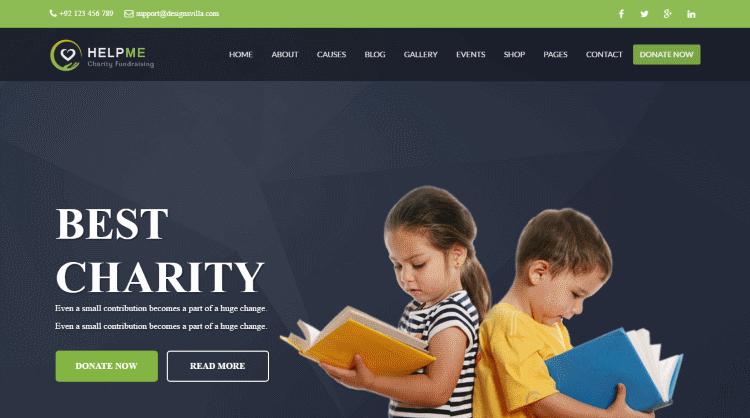 HelpMe WordPress Theme