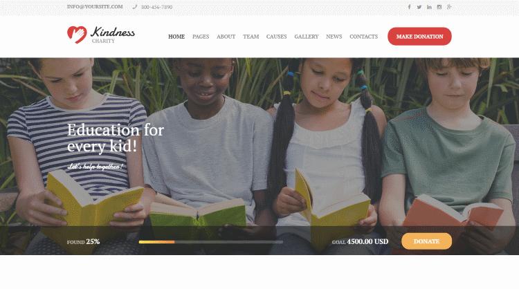 Kindness WordPress Theme