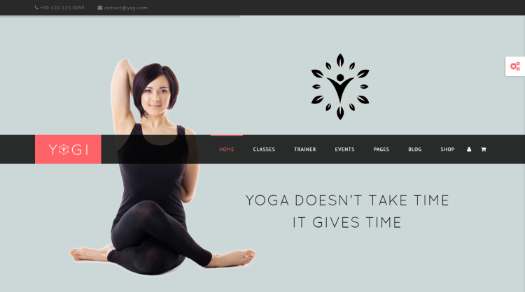 Yogi WordPress Theme