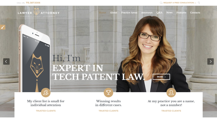 Lawyer & Attorney WordPress Theme