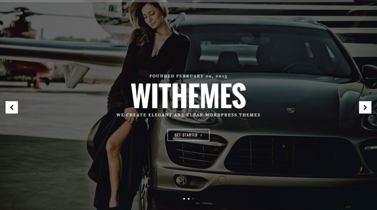 Norris WordPress Theme