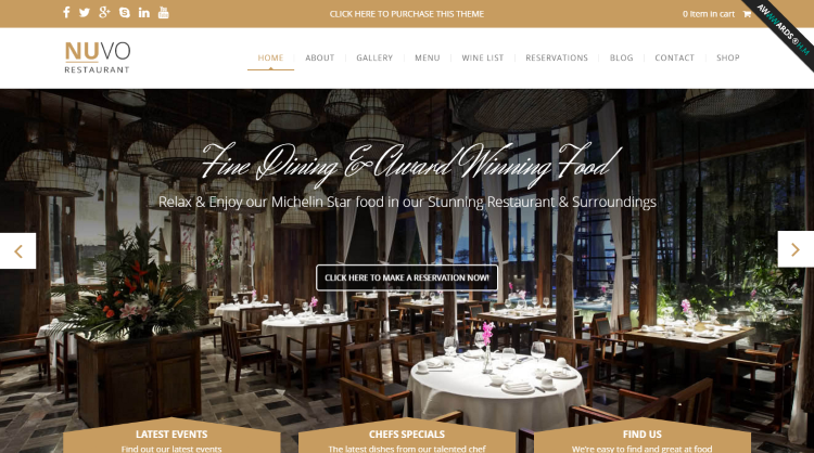 NUVO WordPress Theme
