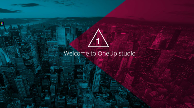 OneUp Parallax One Page WordPress Theme