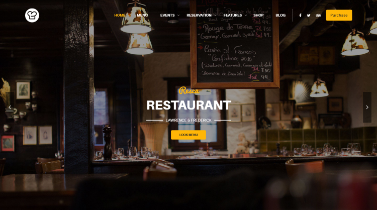 Resca WordPress Theme