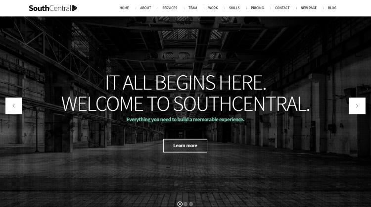 SouthCentral WordPress Theme