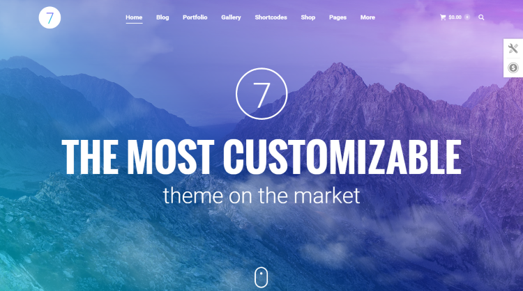 The7 WordPress Theme