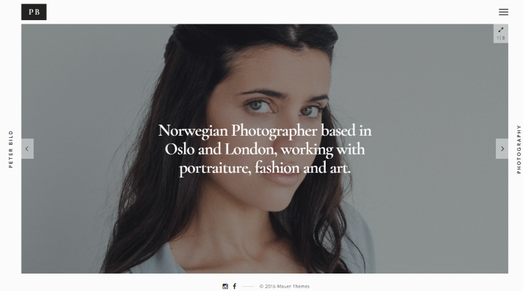 Bild Photography WordPress Theme