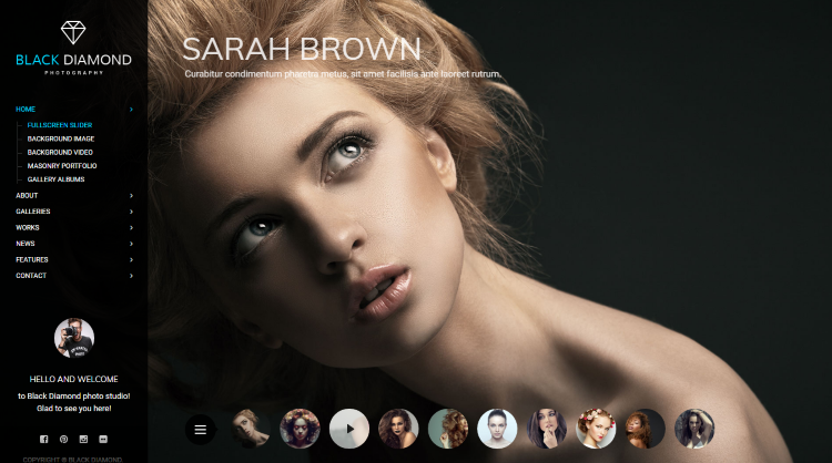 Diamond WordPress Theme
