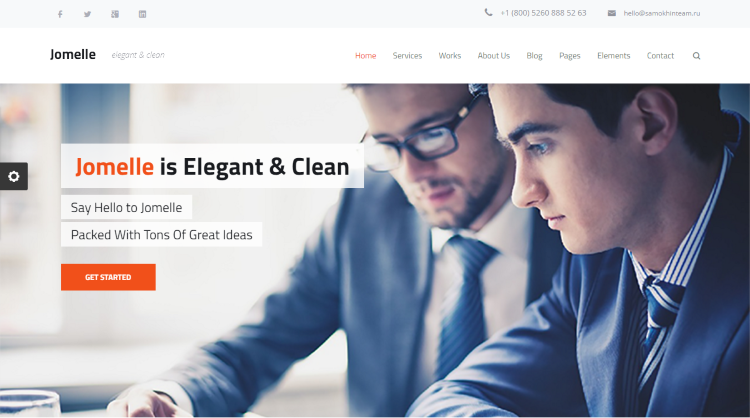 Jomelle WordPress Theme