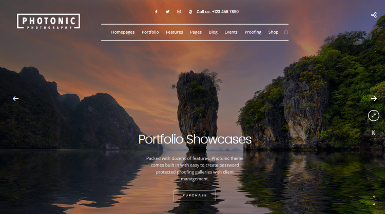 Photonic Photography WordPress Theme
