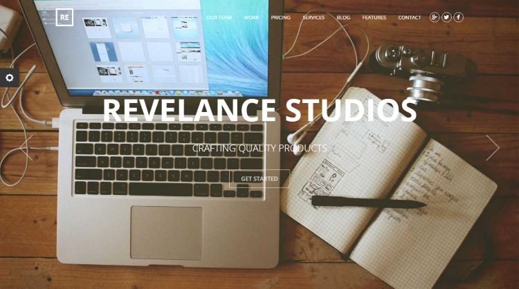 Revelance WordPress Theme