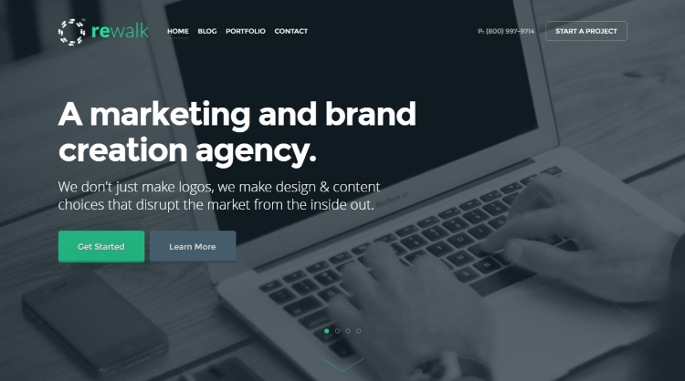 ReWalk WordPress Theme