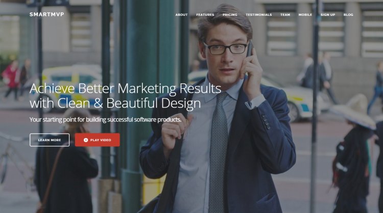 SmartMvp WordPress Theme