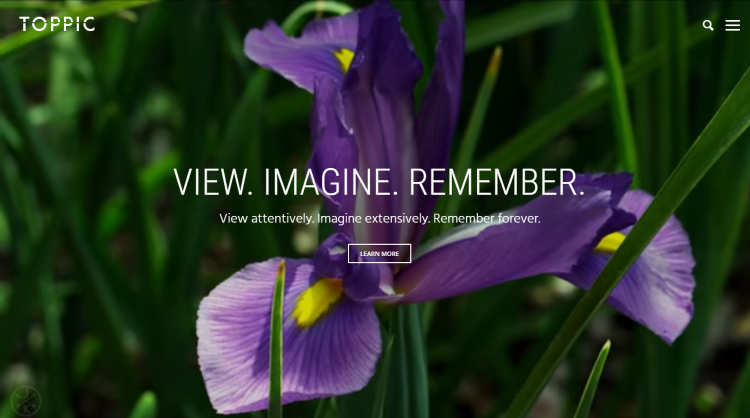 TopPic Photography WordPress Theme