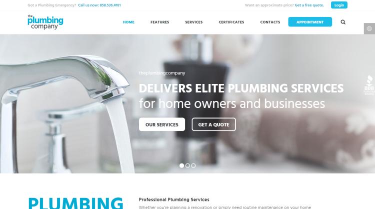 Plumbing Repair Building Construction Theme