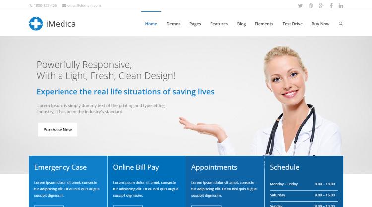 iMedica WordPress Theme
