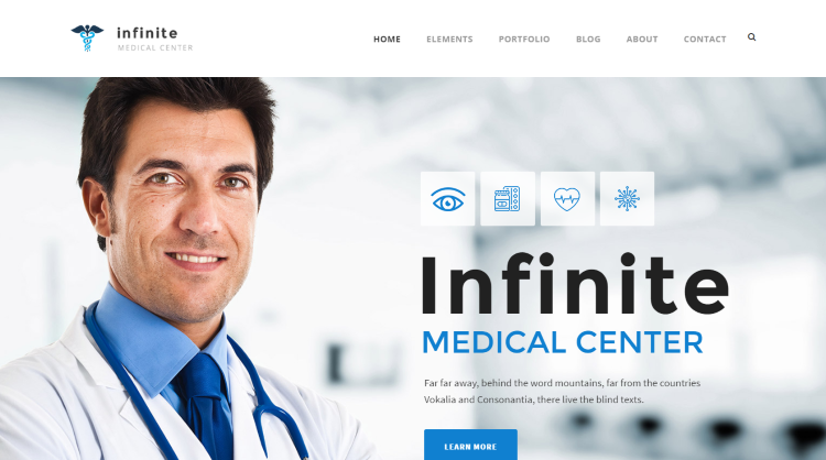Infinite Medical WordPress Theme