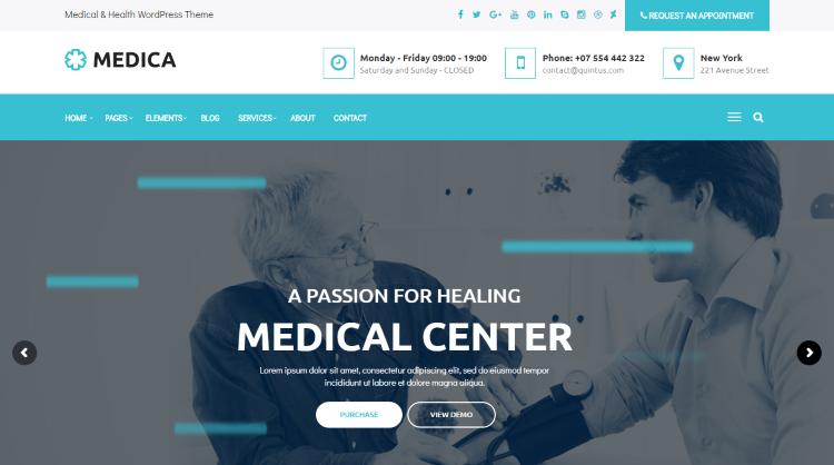 MedicaWP Medical WordPress Theme