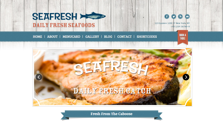 Delimondo Restaurant WordPress Theme