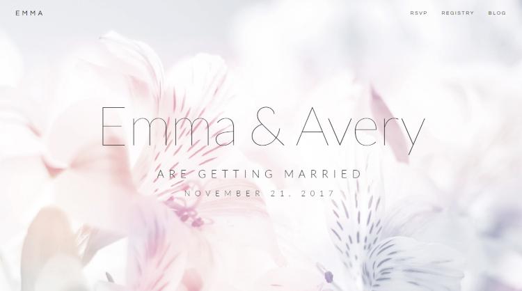 Emma Wedding WordPress Theme