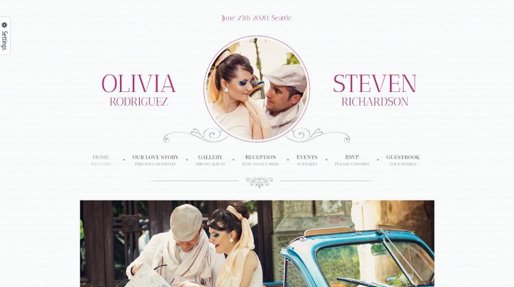 Game Over Wedding WordPress Theme