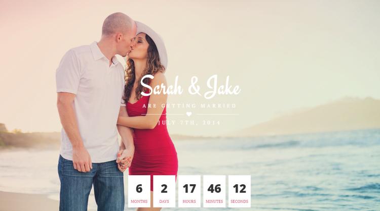Perfect Couple Wedding WordPress Theme