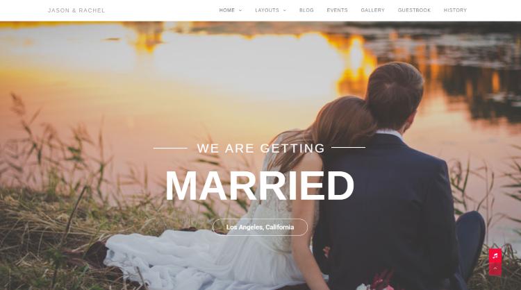 Qaween Wedding WordPress Theme