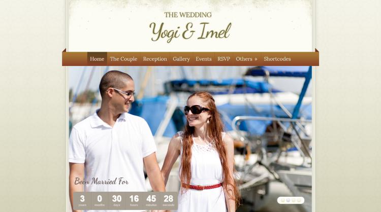 The Wedding WordPress Theme