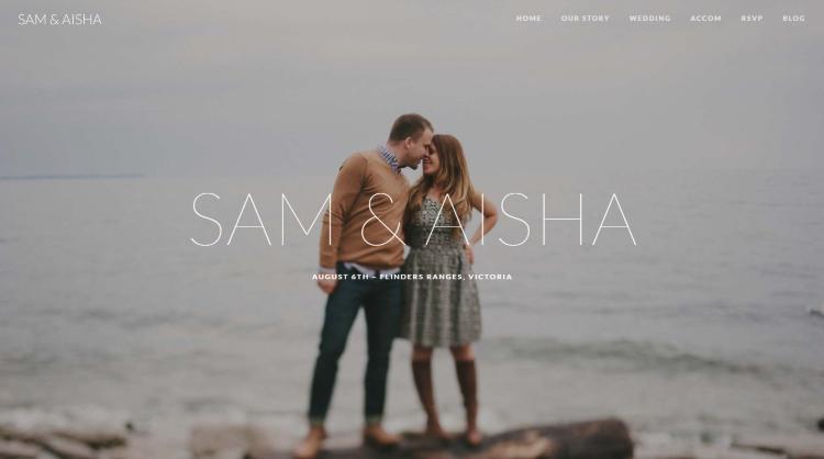 Union Wedding WordPress Theme