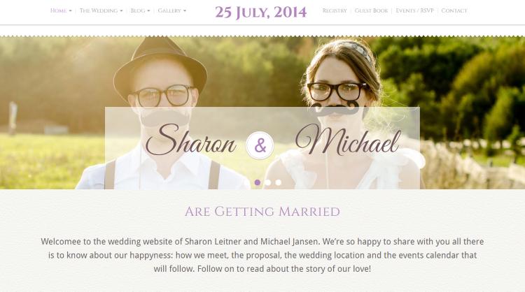 Wedding Bliss Wedding WordPress Theme