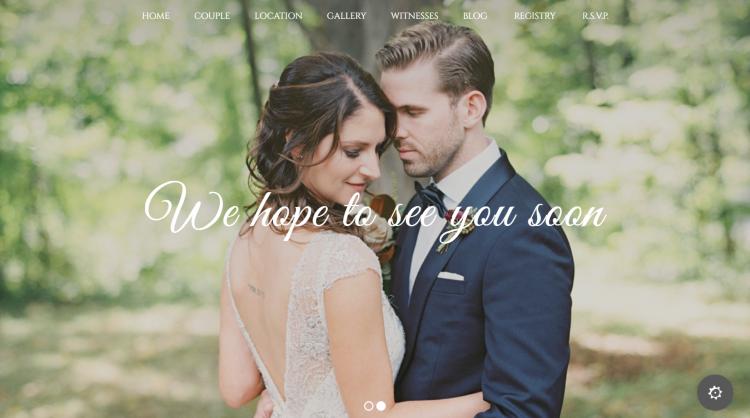 Wedding Industry Wedding WordPress Theme
