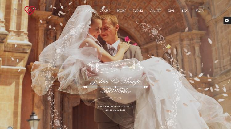 Wedding Suite Wedding WordPress Theme