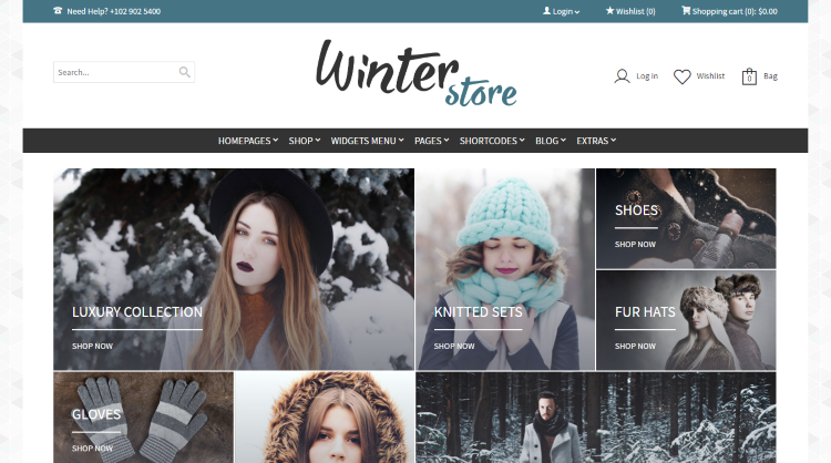 GoodStore Bookstore WordPress Theme