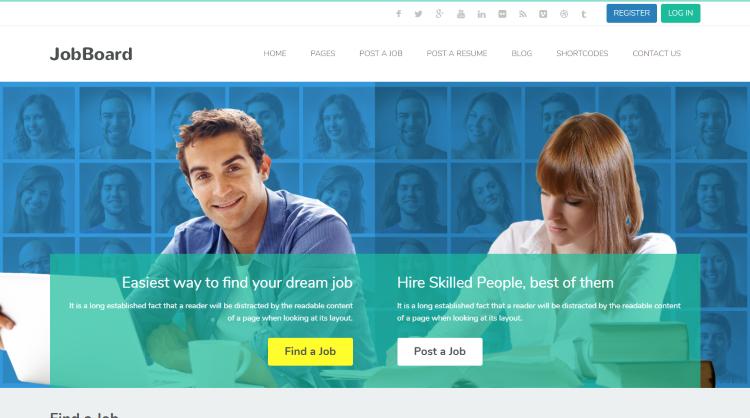 JobBoard Job Board WordPress Theme