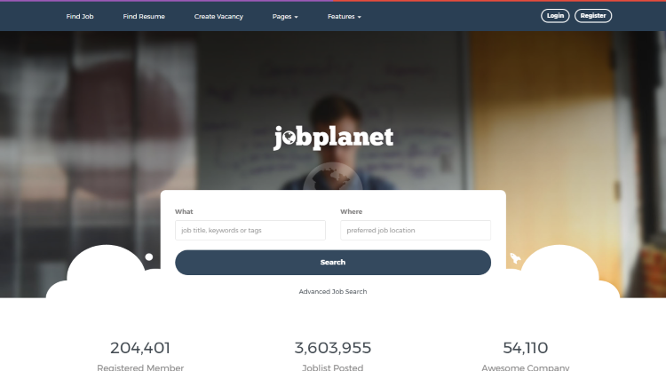 Jobplanet Job Board WordPress Theme