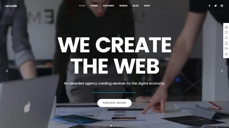Uncode WordPress Theme