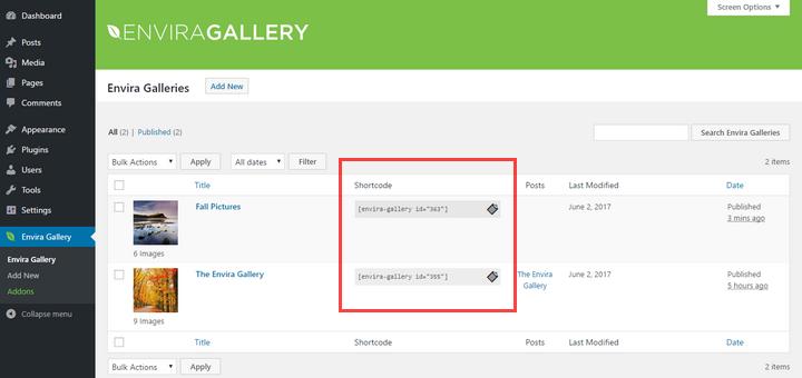 envira-gallery-shortcodes
