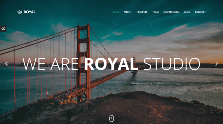 Royal responsive One Page WordPress Theme