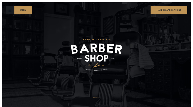 Salon - Barbershop Tattoo Studio WordPress Theme