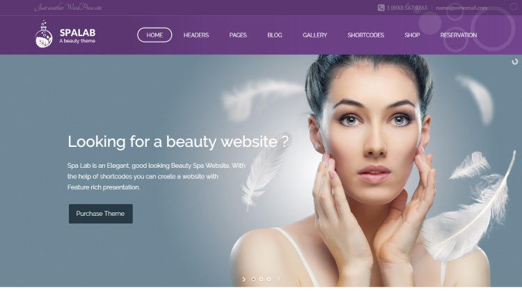Spa Lab - Beauty Spa WordPress Theme